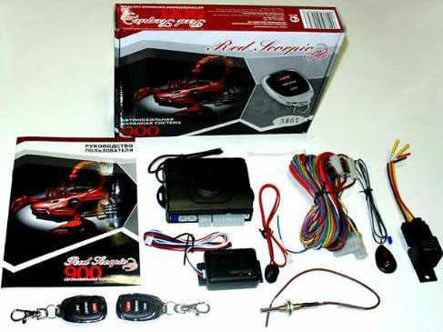 B Red Scorpio SRS-900/1